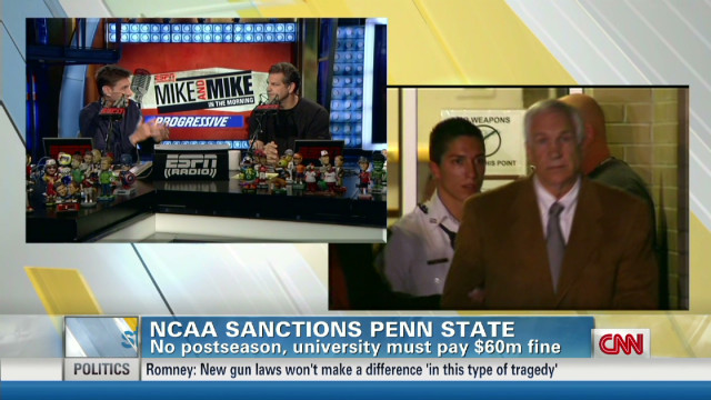 """Mike & Mike"" on Penn State's sanctions"