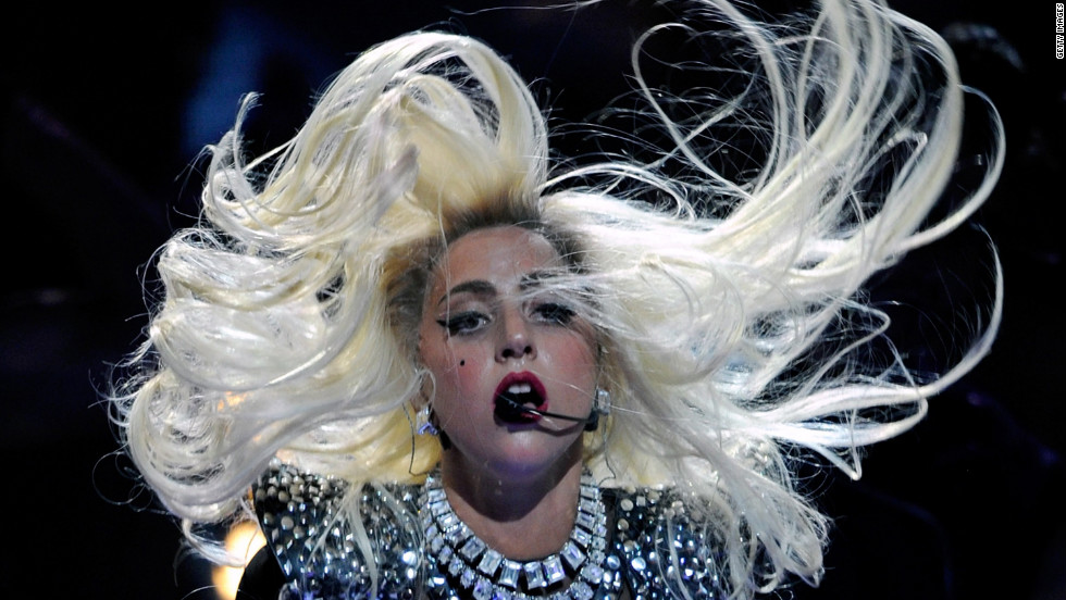 "Lady Gaga stormed the scene combining music, fashion and performance art in a volatile mixture that rocketed her to to the top of the charts with the help of her ""little monsters."""