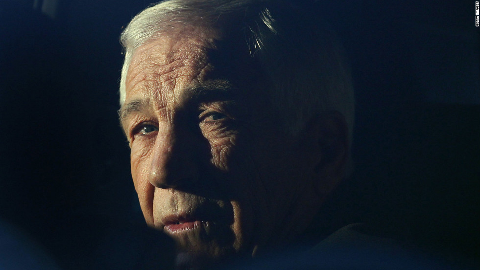 Ex-Penn State defensive coordinator Jerry Sandusky was arrested in November 2011 on charges that he preyed on boys he met through The Second Mile charity. In June 2012, he was convicted of 45 counts involving 10 young victims, and in October, he was sentenced to 30 to 60 years in prison. In July 2012, the NCAA imposed sanctions against Penn State, including a $60 million fine, scholarship reductions, the vacating of 112 wins, five years' probation and a bowl ban for four years. Click through the gallery for other notable NCAA scandals.