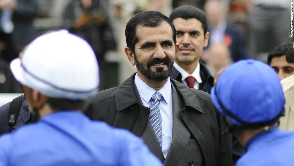 As owner of the prolific Godolphin stables, United Arab Emirates ruler Sheikh Mohammed bin Rashid Al Maktoum has seen his racing unit secure nearly 200 Group 1 victories around the world every year -- creating an annual prize fund of $16.8 million. Godolphin has stables in Dubai, Ireland and the UK.