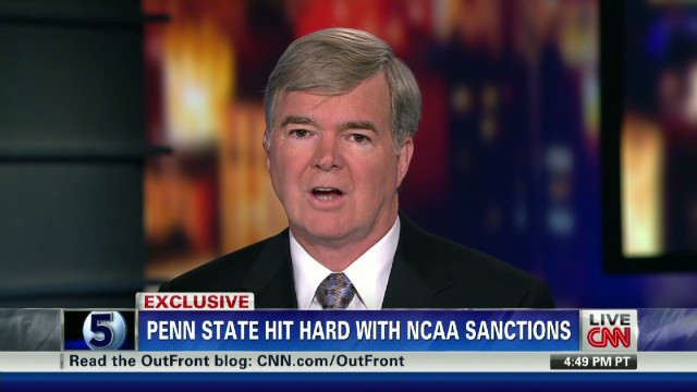 Emmert: It was the board's decision