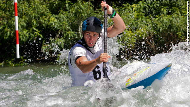 Mike Dawson, a 25-year-old kayaker representing New Zealand in the London Olympics, will be judged by his mother.