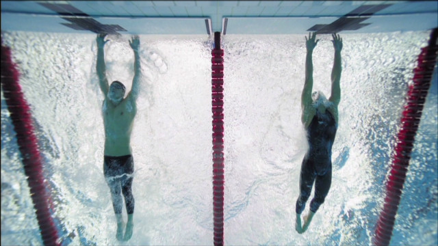 Michael Phelps' photo finish