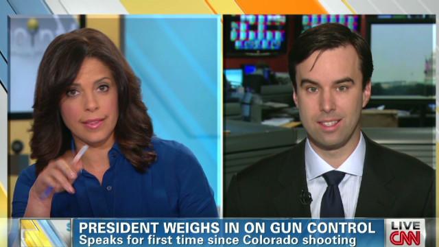 Gun control a sensitive political issue