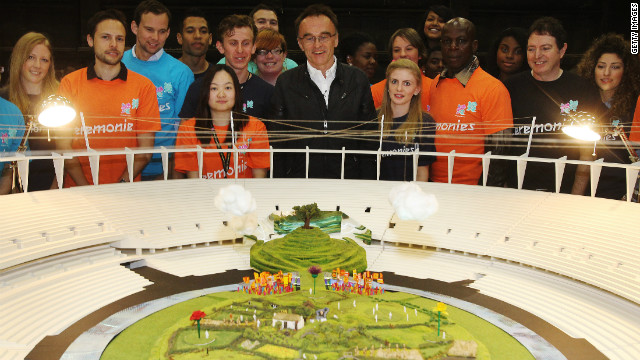 Danny Boyle has pleaded with those involved in the ceremony, and those who watched rehearsals, to keep the event a secret.