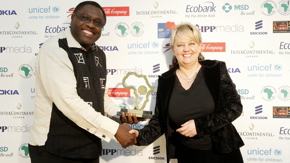 South Africa's Joy Summers won the Coca-Cola Company Economics & Business Award for her piece, 'Central Rand Gold.'