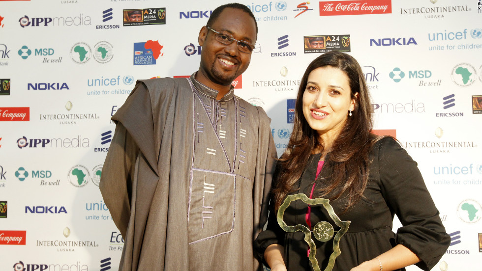 The Electronic Media Award (television) went to Najlae Benmbarek from Morocco.