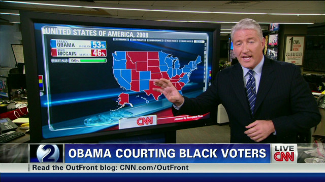 Obama vs. low black voter turnout