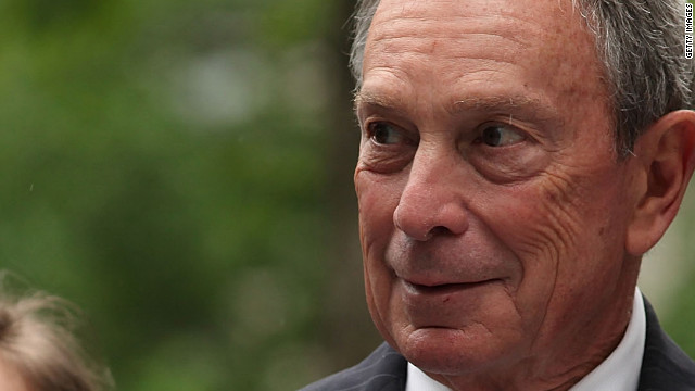 New York Mayor Michael Bloomberg made an off-the-cuff remark about the dangers that police face due to a lack of gun control.