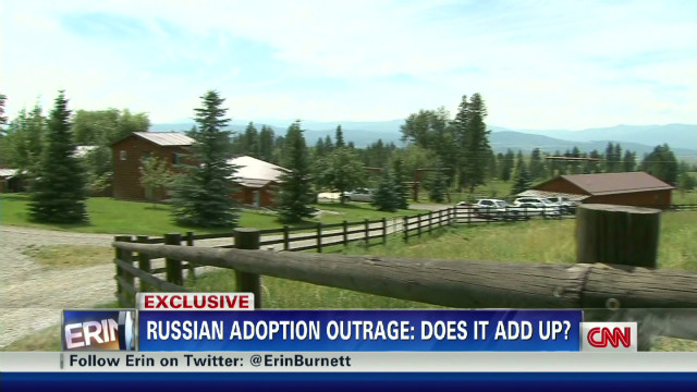 Russian adoption outrage