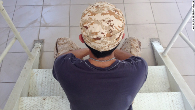 Mohammed, who fought with Libyans rebels, is now heading to Syria to join opposition forces.
