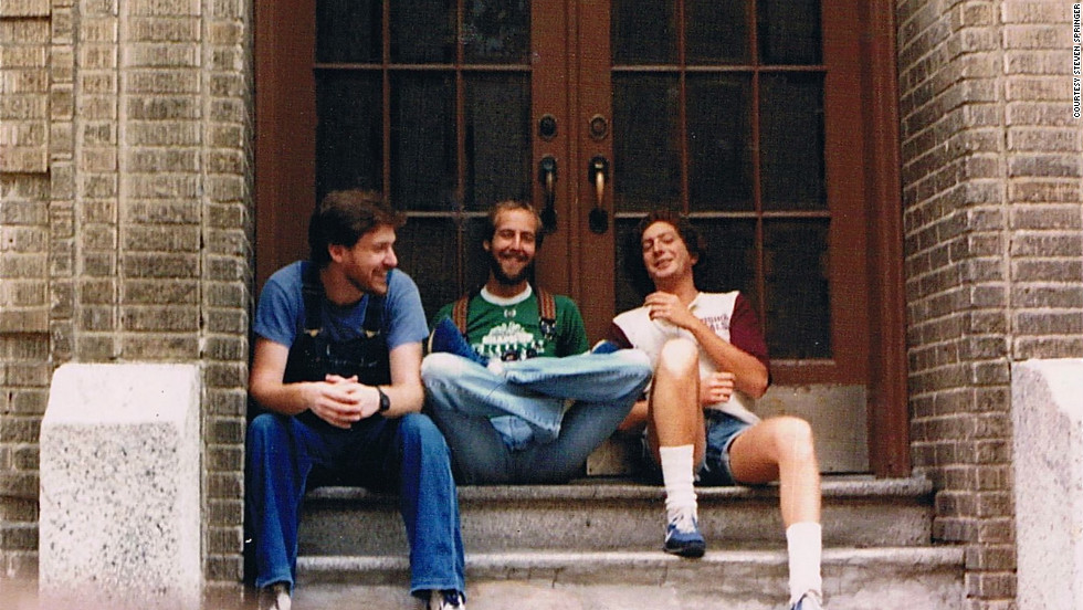 The three replicated their 1970s photo on August 25, 1981. From left to right: Steven Springer, Steve Haimowitz and Errol Honig