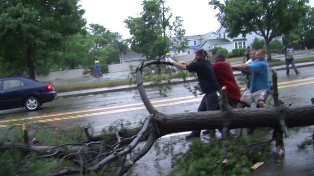 Crews struggle with storm-damaged roads