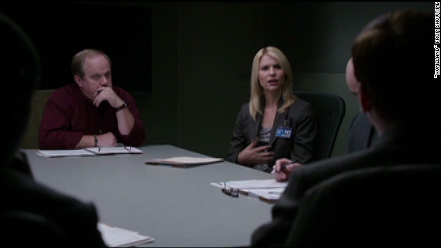 "Claire Danes stars in the successful Showtime drama ""homeland."""