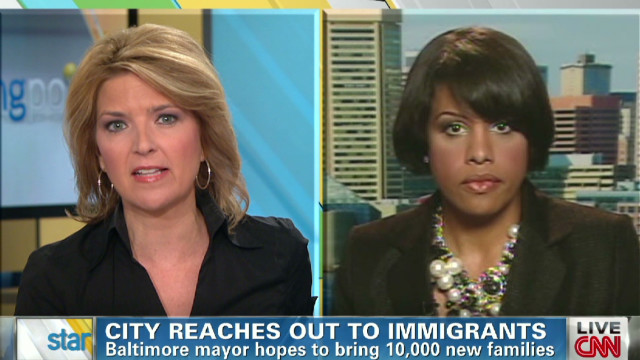 Baltimore Mayor appeals to immigrants