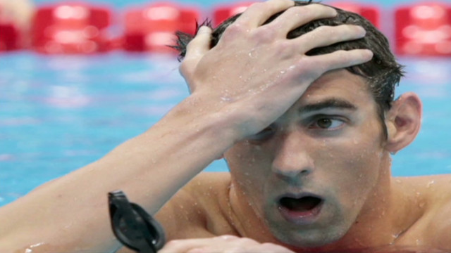 Lochte wins gold, Phelps finishes 4th