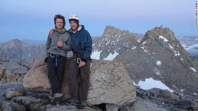 The bodies of missing hikers Gil Weiss, left, and Ben Horne were found in the mountains of Peru.