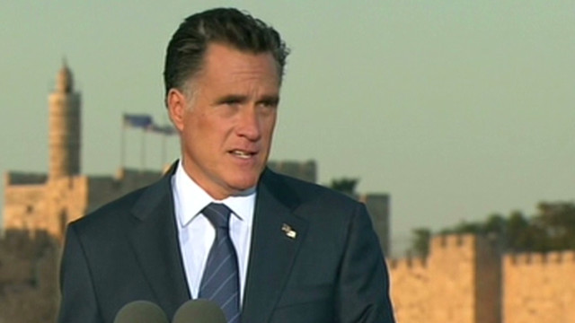 Romney: Secure Israel in U.S. interest