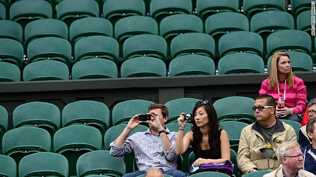 Fans upset over empty VIP seats