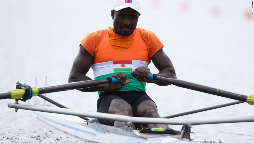 "Despite the IOC keeping a closer eye on its wild cards, London 2012 has had its own ""Eric the Eel"" moment. Rower Hamadou Djibo Issaka of Niger finished in last place in a single sculls repechage, 100 seconds behind his nearest rival. He has acquired his own animal-themed nickname: ""The Sculling Sloth."""