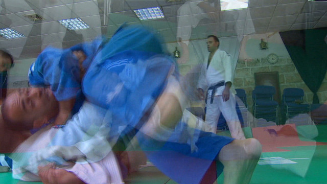 Palestinian athlete heads to London