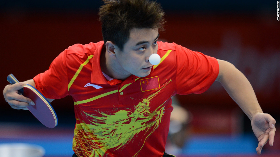 China's Wang Hao impresses during the inaugural Patch Adams Invitational.