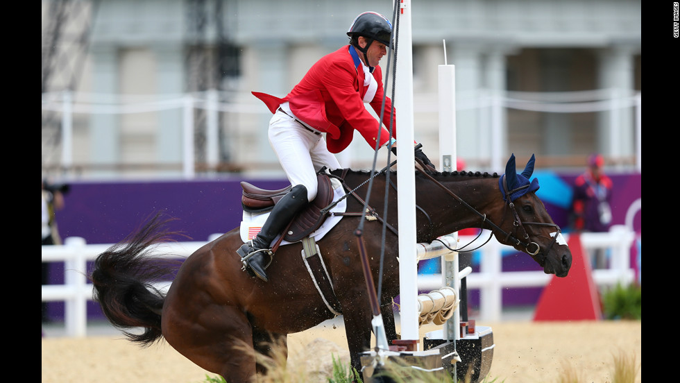 Australia-born Phillip Dutton won team eventing gold in 1996 and 2000 but has not had so much success since switching allegiance to the United States.