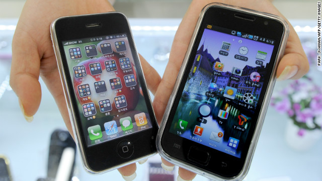 Apple, Samsung patent feud