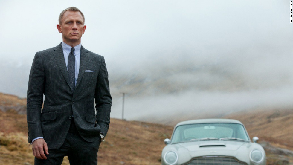"The release of the 23rd James Bond film, ""Skyfall,"" just happened to coincide with <a href=""http://marquee.blogs.cnn.com/2012/10/05/james-bond-at-50-his-best-moments/?iref=allsearch"" target=""_blank"">this year's 50th anniversary of the Bond franchise</a>. Such perfect timing undoubtedly helped propel <a href=""http://marquee.blogs.cnn.com/2012/11/09/skyfall-one-of-the-best-bond-films-ever/?iref=allsearch"" target=""_blank"">what some have hailed as the best ""Bond"" movie in years</a> to the top of the box office. In fact, <a href=""http://insidemovies.ew.com/2012/12/11/skyfall-james-bond-franchise-booming/"" target=""_blank"">it had the biggest opening for a ""Bond"" movie ever</a>. <a href=""http://marquee.blogs.cnn.com/2012/10/05/adeles-skyfall-theme-whats-the-verdict/?iref=allsearch"" target=""_blank"">Having a theme song from the singer with the Midas touch, Adele</a>, probably didn't hurt either."