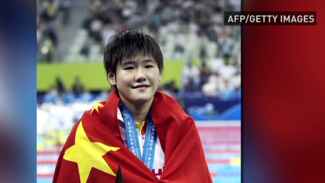 Chinese swimmer's results under scrutiny