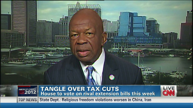 Cummings: GOP holding tax cuts hostage