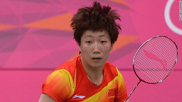 Booted Chinese badminton player quits
