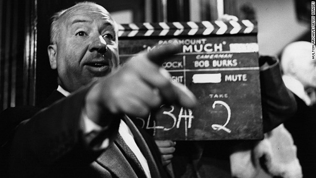 13th June 1955: Film director and auteur Alfred Hitchcock (1899-1980) filming 'The Man Who Knew Too Much', a Paramount remake of his 1934 spy thriller.