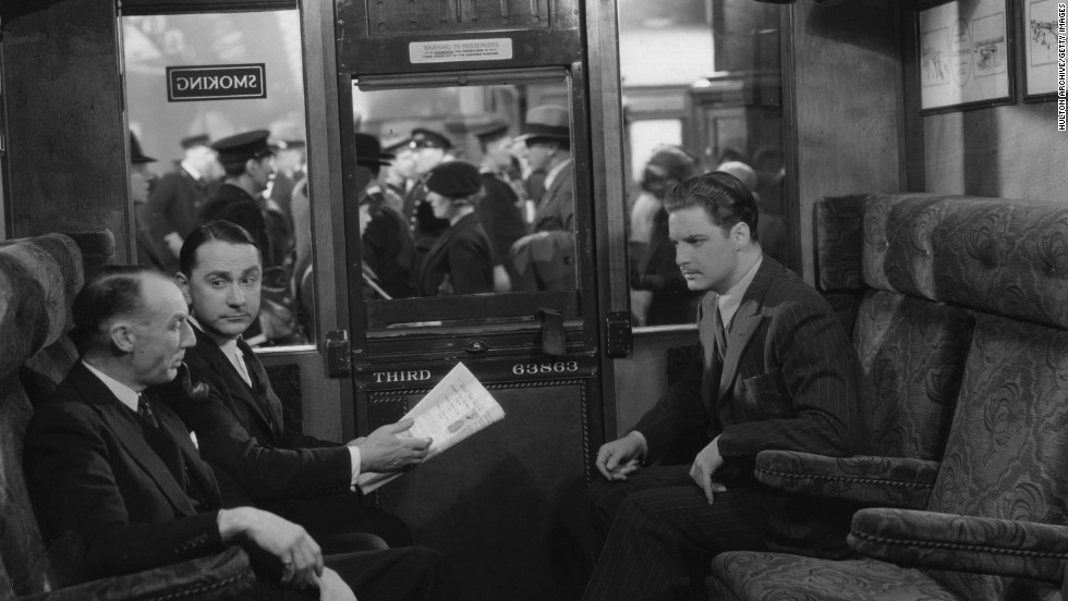 "His 1935 film ""The 39 Steps"" adapted from John Buchan's novel and starring Robert Donat, was set in London and Scotland, with locations including the London Palladium."