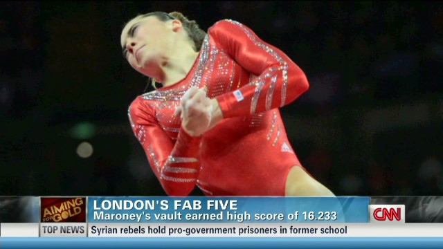 'Fierce Five' gymnasts 'rocked the house'