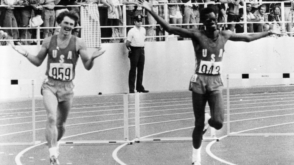 His first international competition was the 1976 Montreal Olympics, where he won gold.