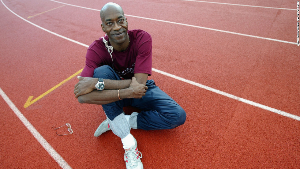 His meticulous dedication to his training program means Moses has now run 26,000 miles -- a triumph of both athleticism and book-keeping.