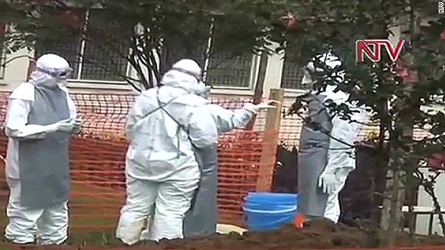 Ugandan officials try to isolate Ebola