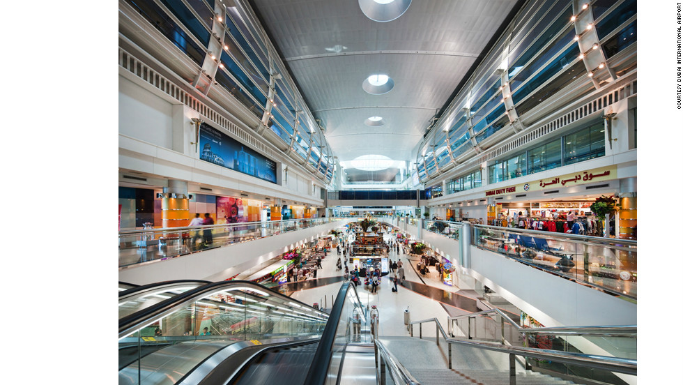 While King Fah'd in Saudi Arabia may be the largest airport in land size, the record for the world's largest airport building is in Dubai.