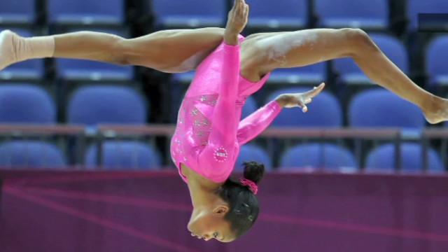 Gymnast's mom on Olympic sacrifices