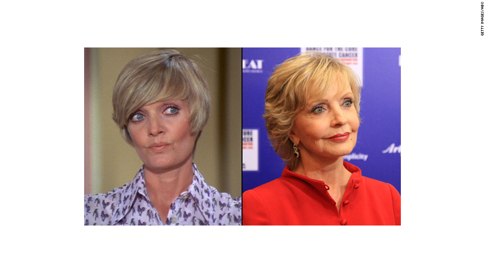 "Can you believe Florence Henderson is 80? It's true; the iconic TV mom celebrated the milestone on February 14. When asked how she thinks Carol Brady would feel about turning 80, <a href=""http://tv.yahoo.com/blogs/tv-news/-the-brady-bunch--reunites-to-celebrate-florence-henderson-s-80th-birthday-210956940.html"" target=""_blank"">Henderson said</a> ""She'd probably feel the same way I do. A little nervous, a little excited. ... I think she would be out there like I am, dating younger men."""