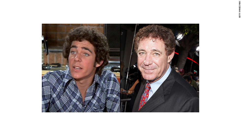 "Barry Williams, 59, went on to appear in TV shows like ""Three's Company,"" ""General Hospital"" and ""According to Jim"" since playing Greg Brady in the '70s. Williams still has those curls, as well as<a href=""http://tv.yahoo.com/blogs/tv-news/-the-brady-bunch--reunites-to-celebrate-florence-henderson-s-80th-birthday-210956940.html"" target=""_blank""> a lingering crush</a> on his former TV mom -- he gave her an intense kiss on the lips during the ""<a href=""http://www.eonline.com/news/511065/the-brady-bunch-reunion-on-the-talk-florence-henderson-turns-80-and-the-cast-looks-back-watch"" target=""_blank"">The Talk's"" ""Brady Bunch"" reunion.</a> Off-camera, he's a father of two and also an author with the memoir, ""Growing Up Brady: I Was a Teenage Greg."" You can keep up with Williams on his blog, <a href="" www.thegregbradyproject.com"" target=""_blank"">The Greg Brady Project. </a>"