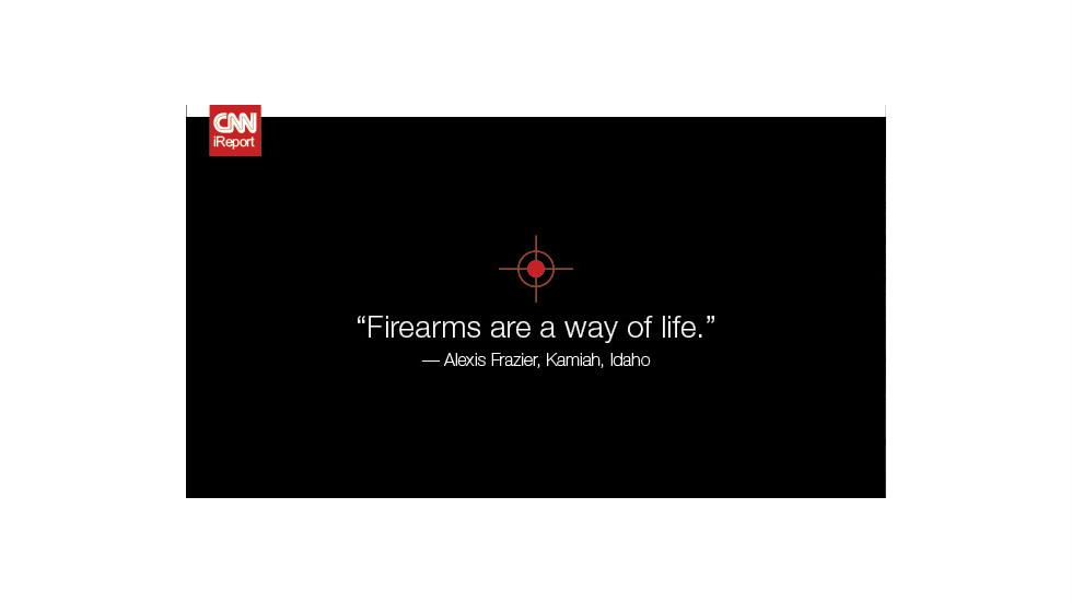 "<a href=""http://ireport.cnn.com/docs/DOC-819249"">Read Alexis Frazier's original story on iReport</a>."