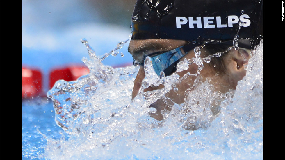 Phelps, who will retire after the Olympics, made history this week when he became the Olympian with the most medals. He earned his 20th in the individual medley event.