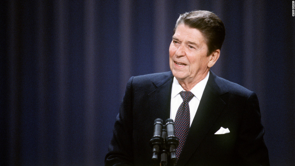 Ronald Reagan, smiling with a dusting of wry, sounded like your grandfather, while Jimmy Carter, despite the Georgia accent, always sounded a bit sad and sanctimonious and Walter Mondale like your accountant.