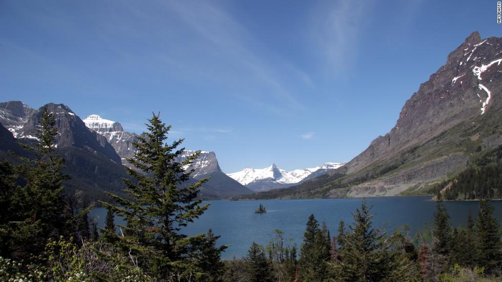 Wild Goose Island is one of Glacier National Park's most photographed locations. More than 700 miles of trails make this park a backpacker's dream.