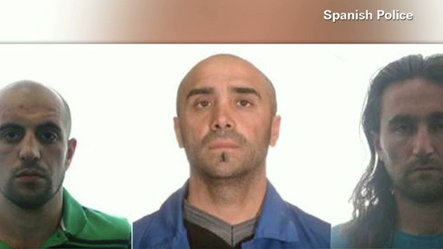 Spain arrests three al Qaeda suspects