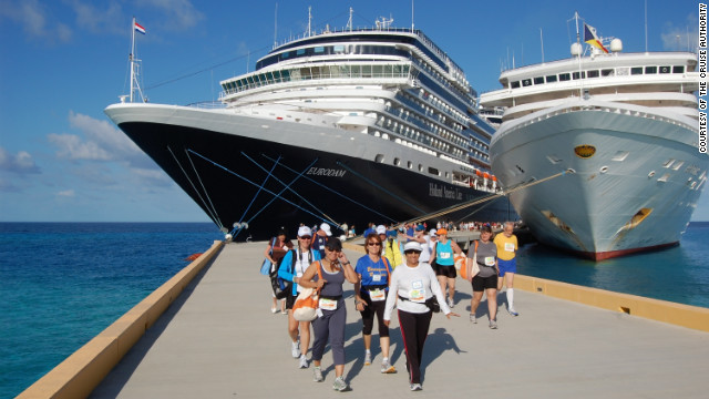Guests walk, jog or run half- and full-marathon distances on cruises tailored to runners.