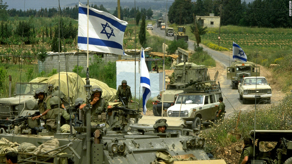 Instability in Lebanon has drawn in soldiers from neighbouring Israel and Syria at various points in the country's history. In 1982 Israel invaded Lebanon in a push to destroy the PLO (Palestine Liberation Organization).Israel kept troops in the south until 2000. In 2005 Syria withdrew troops that initially arrived in 1976.