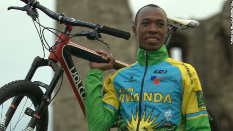 The Team Rwanda rider honed his mountain biking skills in Switzerland ahead of the Games.